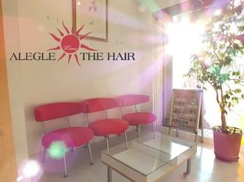 ALEGLE THE HAIR画像